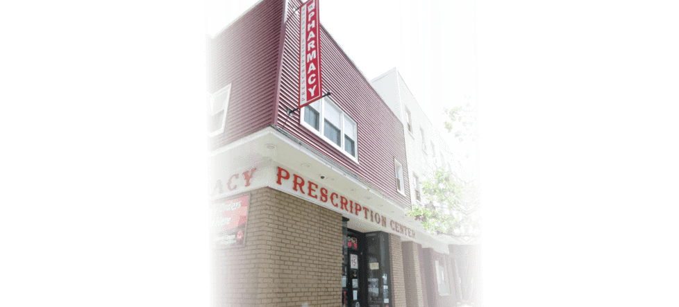 perspective view of the prescription center