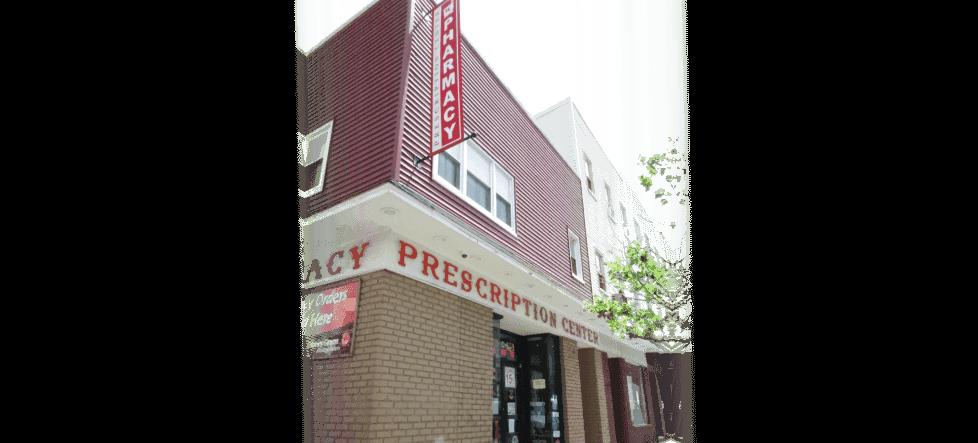perspective view of the prescription center